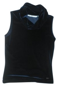 Tommy Hilfiger Velvet Top Deep blue