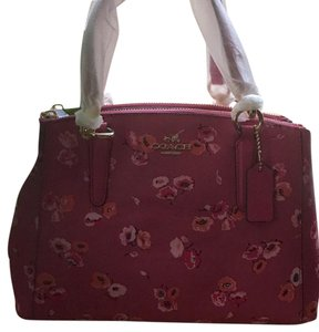 Coach Item Is Nwt Satchel in Dahlia Pink Floral