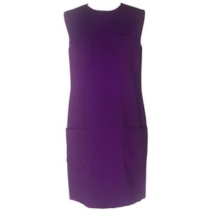 Versace short dress Purple on Tradesy