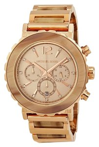Michael Kors NWT Lillie Chronograph Rose Gold-Tone Watch MK5791