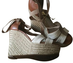 MICHAEL Michael Kors Light brown and beige Wedges