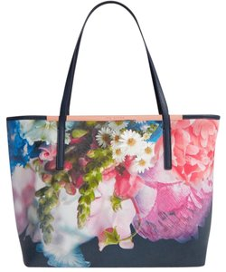 Ted Baker Large Shopper Nwt Tote in Dark Blue