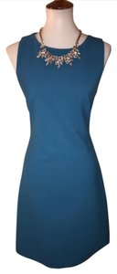 Theory Free Sleeveless Blue 0 Dress