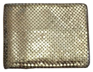 Whiting & Davis Gold Mesh Vintage Bifold Wallet
