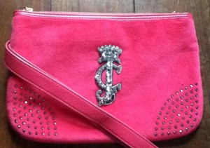 Juicy Couture Studded Sparkle Soft London Nylon Cross Body Bag