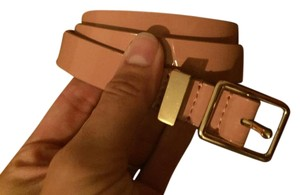 J.Crew Soft Pink Genuine Leather Belt