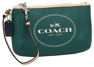 Coach F51788 Medium Wristlet in Lagoon