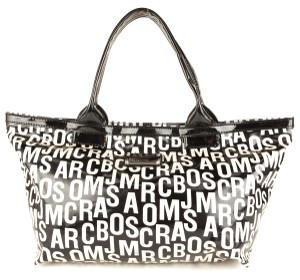 Marc by Marc Jacobs Tote in Black & White