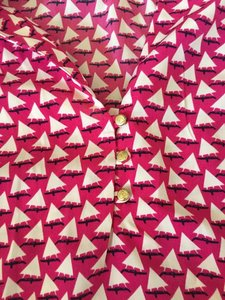 Tommy Hilfiger Top Pink with sailboats
