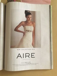 Rosa Clar Aire Wedding Dress