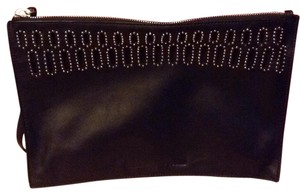 MCQ by Alexander McQueen Leather Wristlet in Black