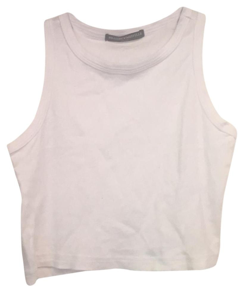 ca185f2d617a25 Brandy Melville White Tank Top Cami Size OS (one size) - Tradesy