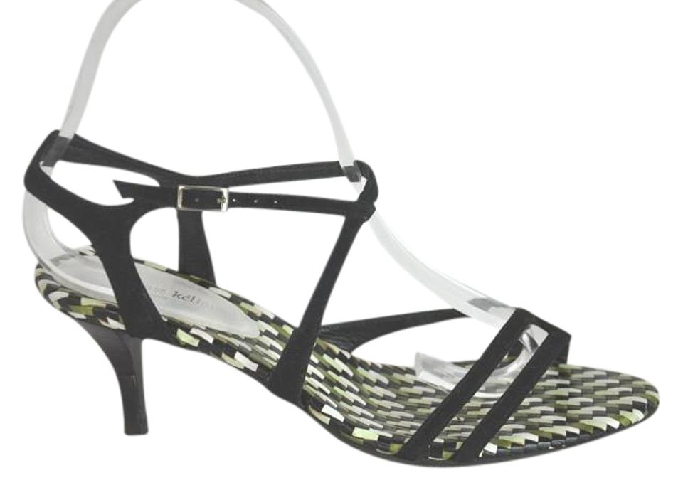 new styles new high quality outlet Stephane Kelian Black Suede Kitten Uk 5 Sandals Size US 7.5 ...