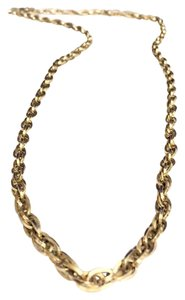 Sarah Coventry Sarah Coventry Long Thick Gold Tone Statement Chain Necklace