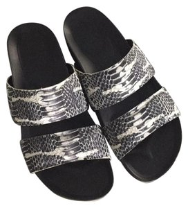 Vince Navy, grey and white Sandals