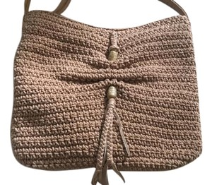 Lucky Brand Macrame Light Weight Fringe Cross Body Bag
