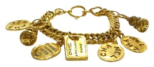 Chanel Vintage Chanel 7 Charm Rue Cambon Bracelet