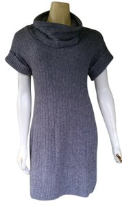 Banana Republic short dress Gray Knit Sweater on Tradesy