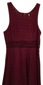 Free People short dress Garnet on Tradesy