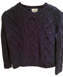 L.L.Bean M (10/12) Boys Kids 50%wool 50% Acrylic Sweater