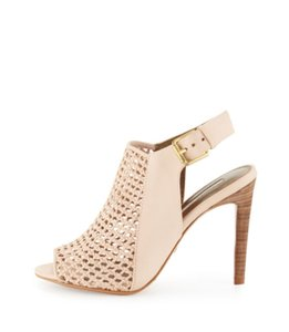 Twelfth St. by Cynthia Vincent Leather Slingback Sandal Nude Sandals