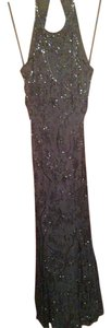 Cache Silk Hand Beaded Dress