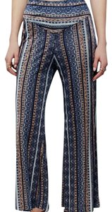 Free People Flare Pants Multi Colored