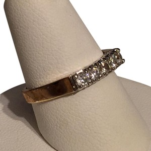 EDCO Edco Vintage High Quality Gold Tone Simulated Diamond Ring