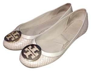 Tory Burch Pink/tan Flats