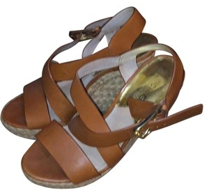 MICHAEL Michael Kors Tan/brown Wedges