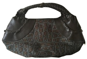 Salvatore Ferragamo Satchel in Brown ~ Dusty Teal