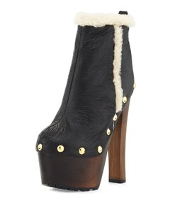 Giuseppe Zanotti Ankle Shearling black Boots