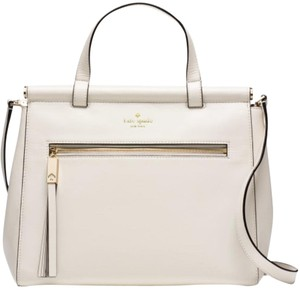 Kate Spade Satchel in Horchata/off white