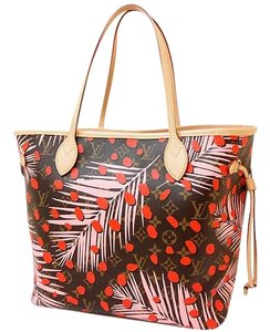 Louis Vuitton Neverfull Mm Neverfull Neverfull Palm Tree Neverfull Jungle Tote in Brown