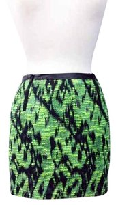 ASTR Mini Skirt Green/Black