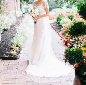 Maggie Sottero Dress - Arlyn; Jacket - Chesney Wedding Dress