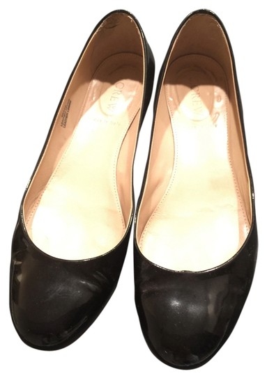 Preload https://item1.tradesy.com/images/jcrew-chunky-gold-patent-leather-black-flats-1972755-0-0.jpg?width=440&height=440