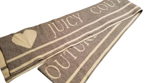 Juicy Couture Juicy Couture Reversible Cashmere Scarf