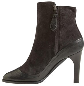 Rag & Bone Black Leather Suede Boots