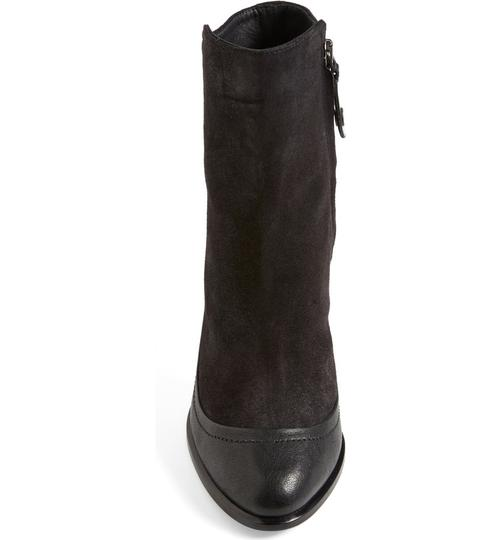 Rag & Bone Black Leather Suede Boots Image 1