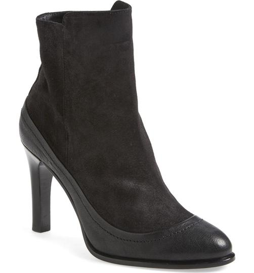 Rag & Bone Black Leather Suede Boots Image 3