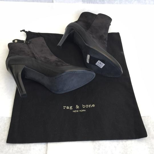 Rag & Bone Black Leather Suede Boots Image 4