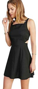 Ecote short dress Black Cut Out Zipper Urban Outfitters on Tradesy