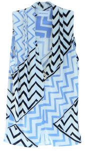 Emilio Pucci Sleeveless Stretchy Silk Top