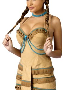 Party City Halloween Indian Costume Dress