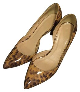 J.Crew Light Walnut (Leopard) Pumps