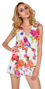 Other Shorts Flower Ruffle Dress
