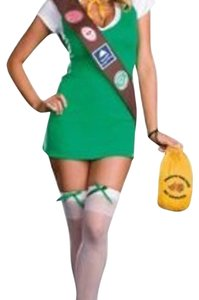 Party City Sexy Girl Scout Halloween Costume Dress