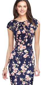 Other short dress Flower Mini Spring Bodycon Work on Tradesy
