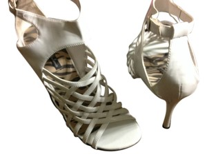 Michael Antonio White Sandals